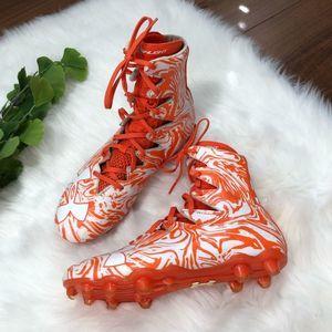 Under Armour | Orange Sports Cleats Shoes Size 9.5